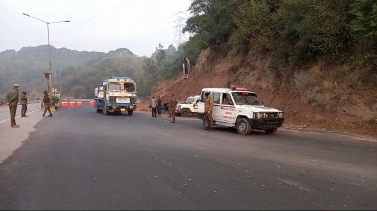 Four militants killed in gunfight on Jammu-Srinagar highway