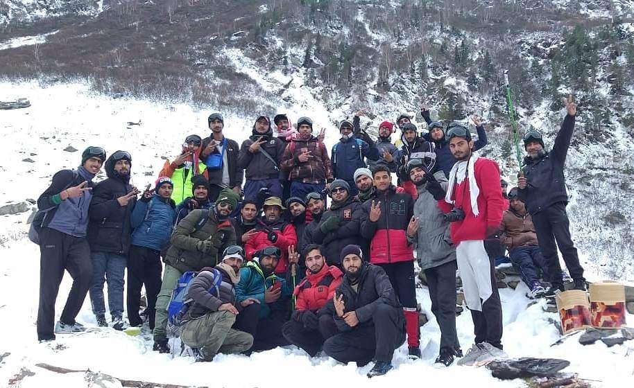 Jammu University starts ten days trekking expedition to Bhadarwah valley