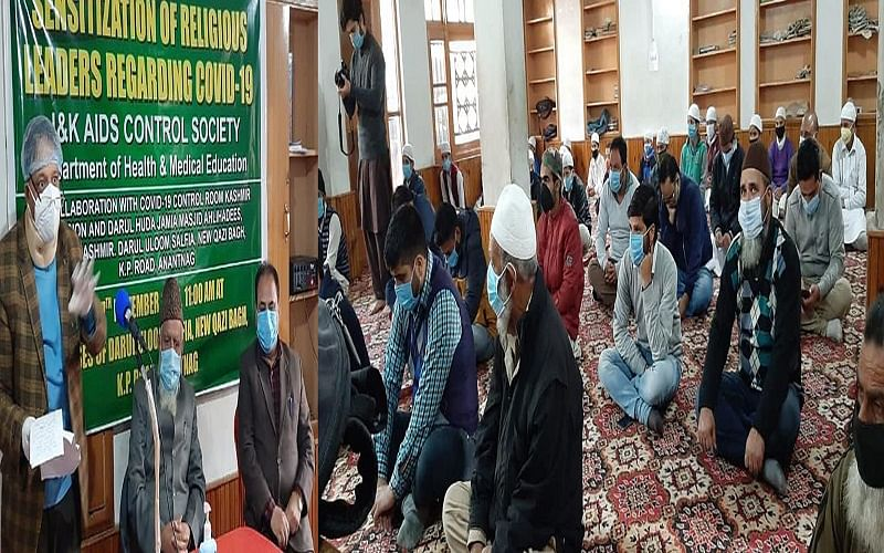 Religious leaders play key role in battle against COVID19: JKACS