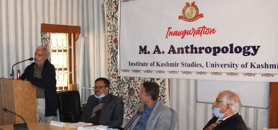 Kashmir University launches PG programme in Anthropology