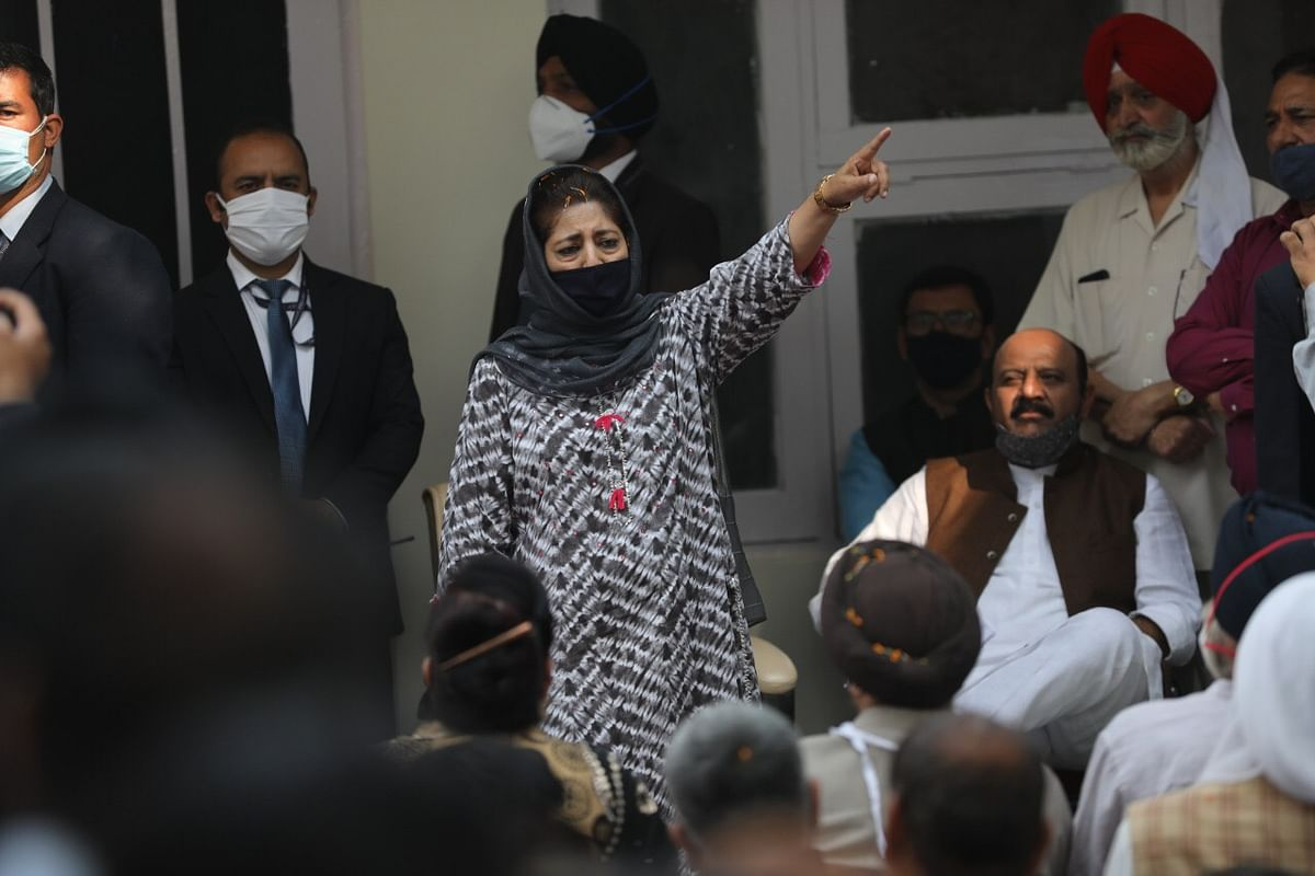 Admin ignored inputs about target killings: Mehbooba