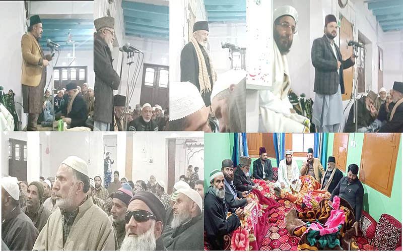 Renzushah, others address congregation at Wagoora