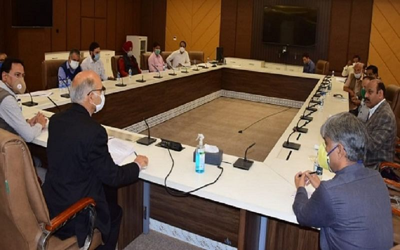 DDC Polls: Election Commissioner holds all-party meet
