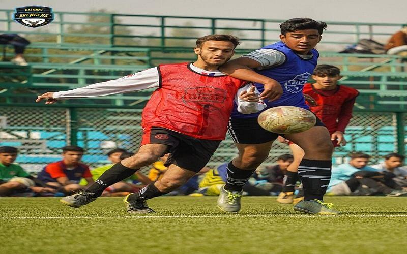 Kashmir Avengers organizes football trials