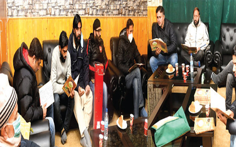 Anjuman-e-Urdu Sahafat J&K holds prayer Majlis for deceased journalists