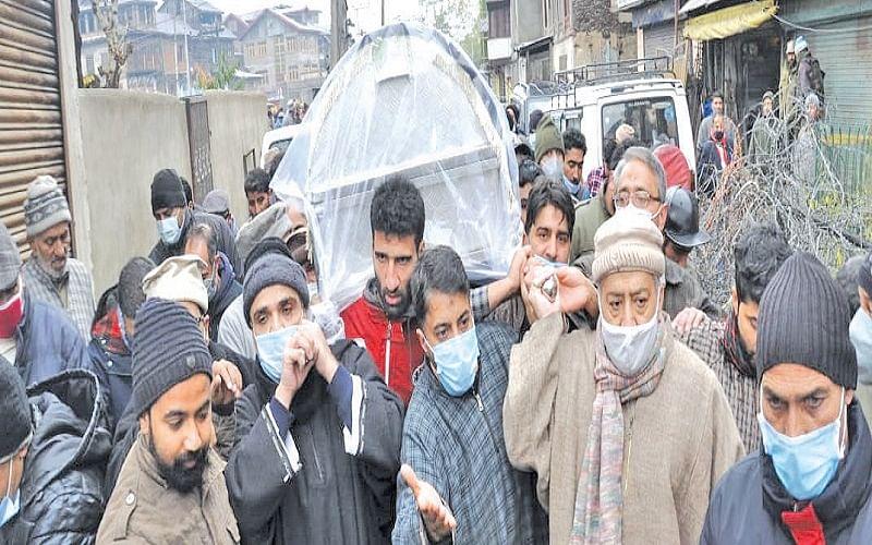 Moulana Abbas Ansari bereaved
