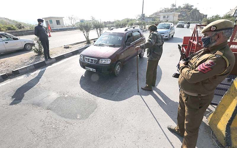 Highway security beefed-up, vehicle checking intensified