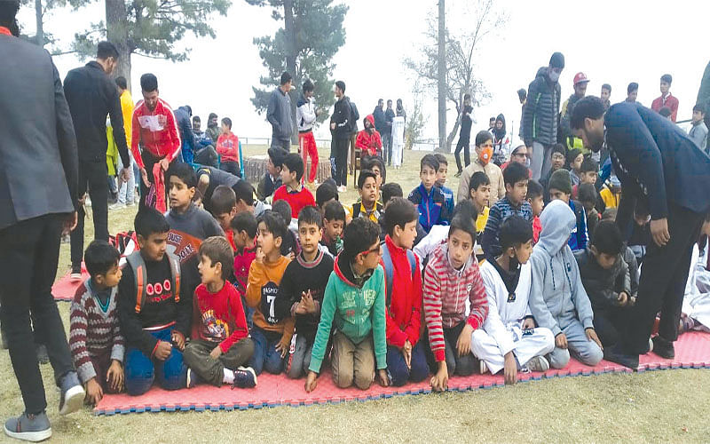 Wushu championship concludes in Tangmarg
