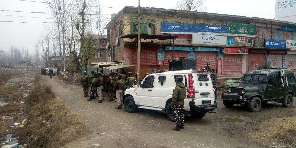 Security forces launch search operation after militants escape in Narbal