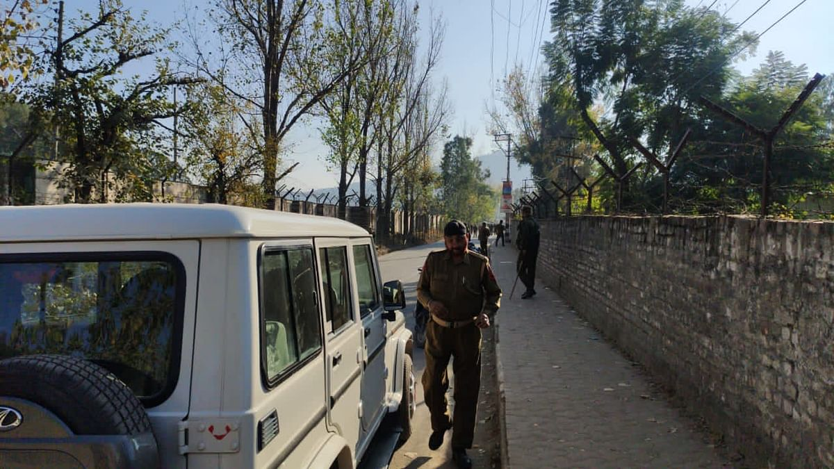 DC office road closed in J&K's Rajouri after suspected explosive material recovered