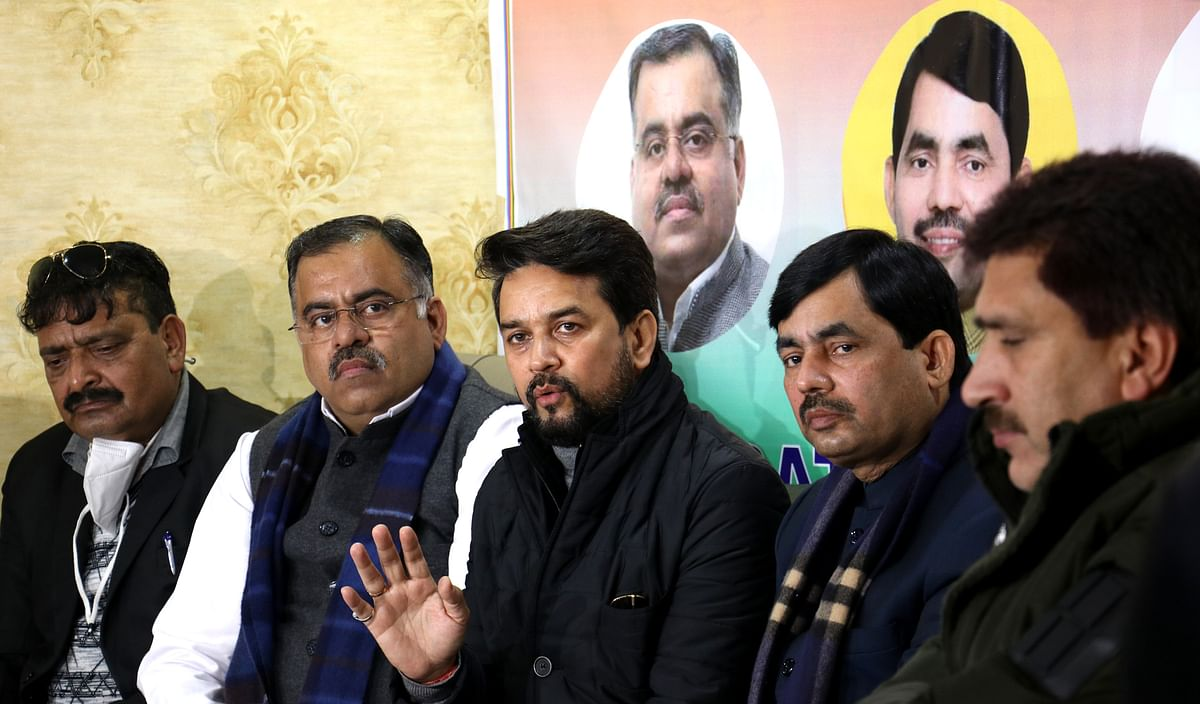 Vote share of BJP and Independents shows people have rejected Gupkar: Anurag Thakur