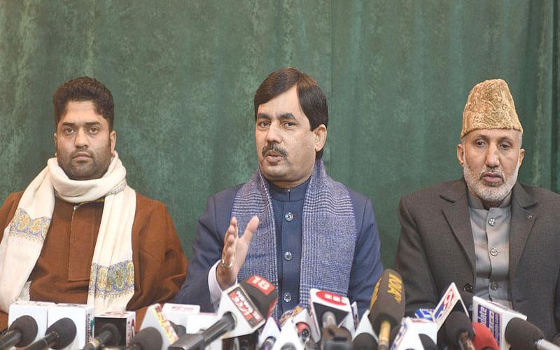 BJP now eyeing Assembly polls: Shahnawaz Hussain