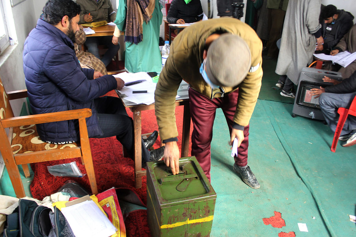 DDC Chairperson Election: Close contest between PAGD and Apni Party in south Kashmir's Shopian