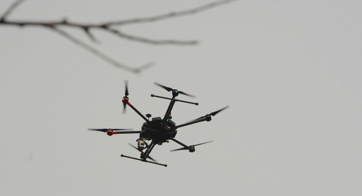 BSF opens fire on Pak drones along IB in Jammu: Officials