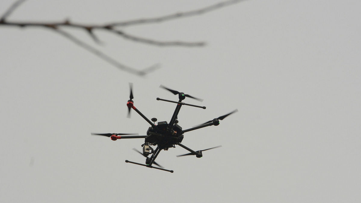 'Pak drone forced to go back from Pallanwala sector'