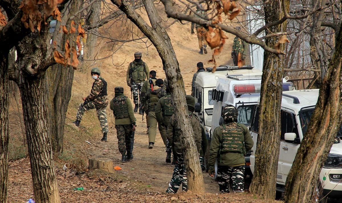 Gunfight breaks out in north Kashmir's Sopore