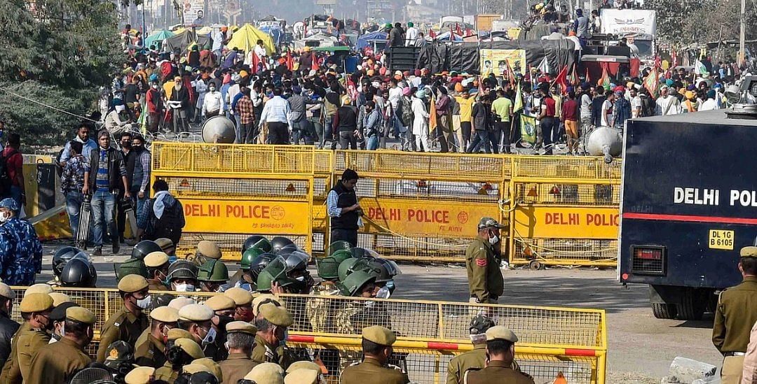 Farmers' protest: No relief from traffic chaos in national capital