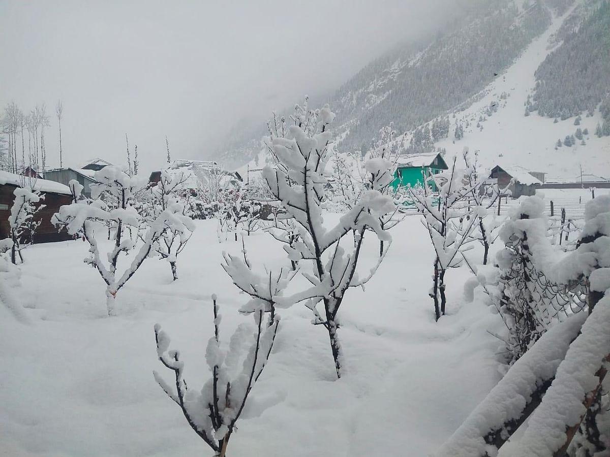 Heavy snowfall cuts off Gurez valley in north Kashmir