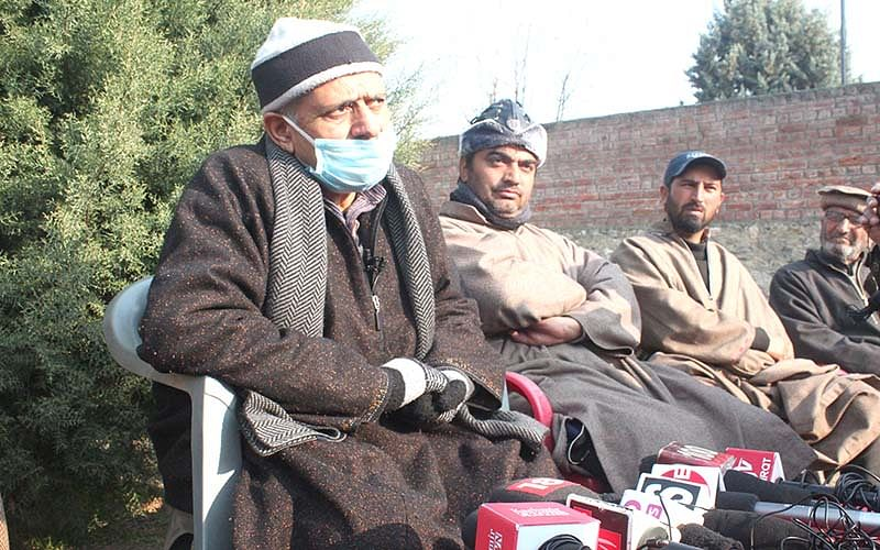 Bandipora-A poll issue   PDP's Nizamuddin demands re-poll, AP's Usman says polling fair