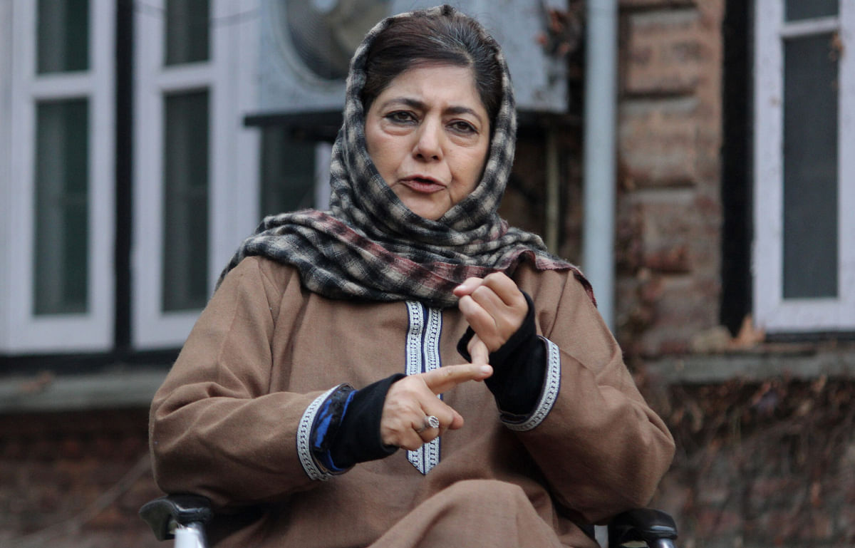 Don't target my family, party workers; fight me politically: Mehbooba Mufti to BJP