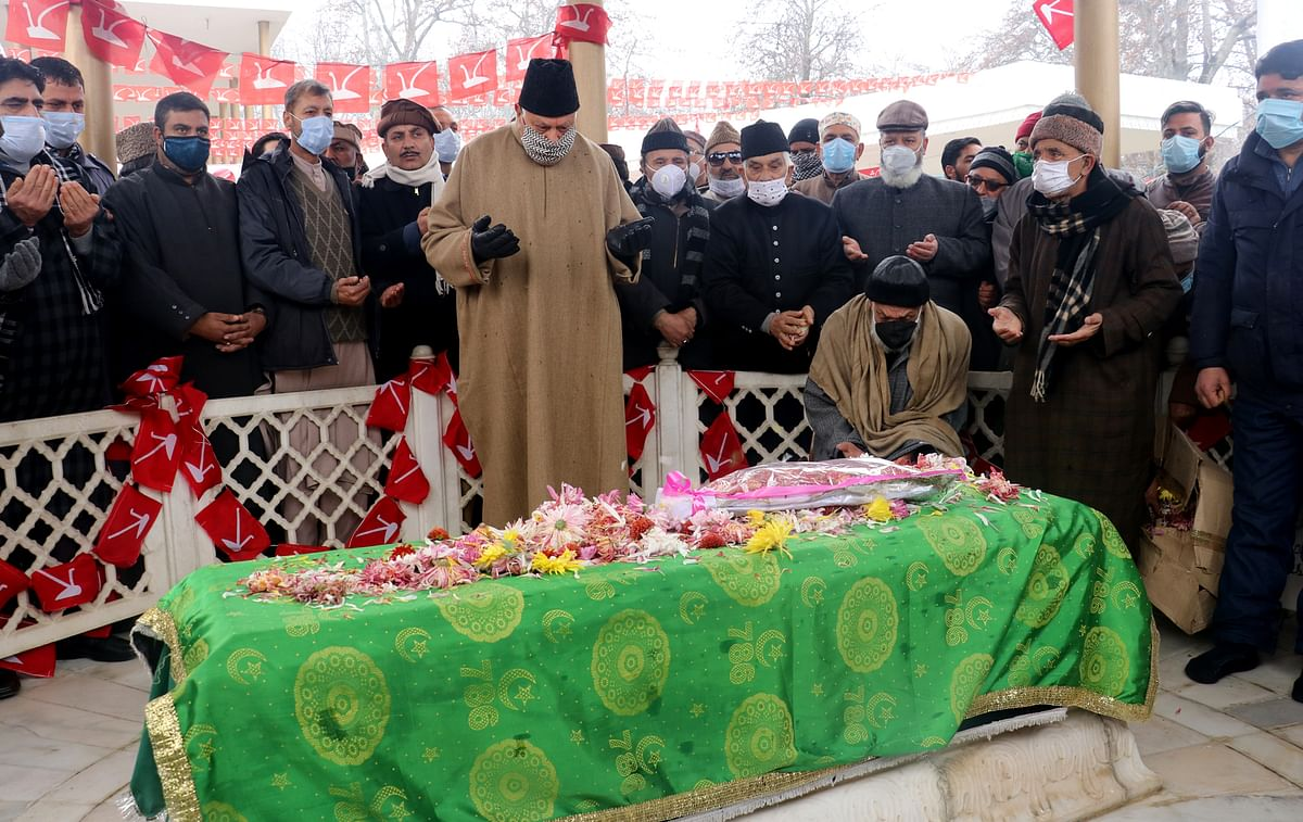 NC pays tributes to party founder Sheikh Abdullah on his birth anniversary
