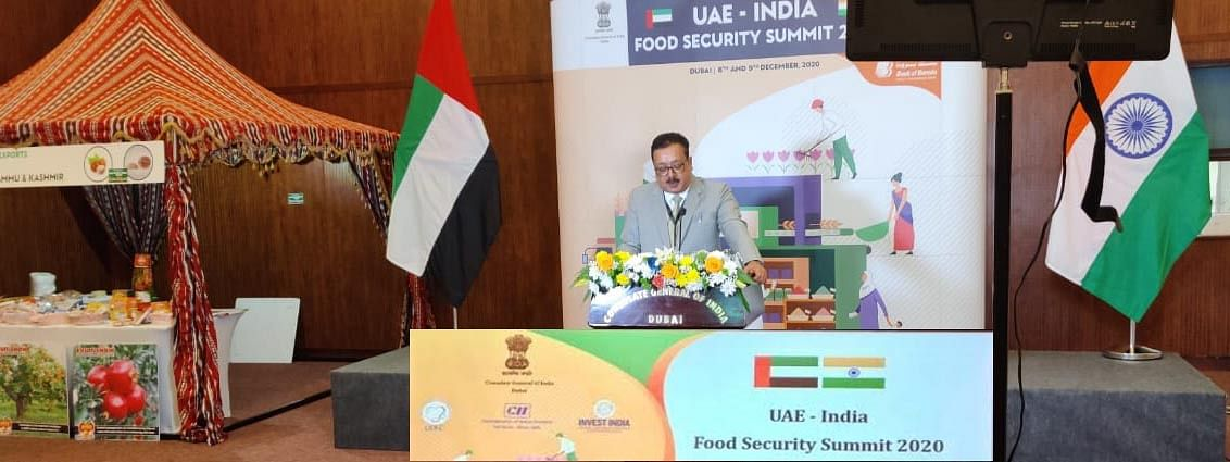 Navin Choudhary leads farmers, growers delegation to UAE-India Food Security Summit 2020