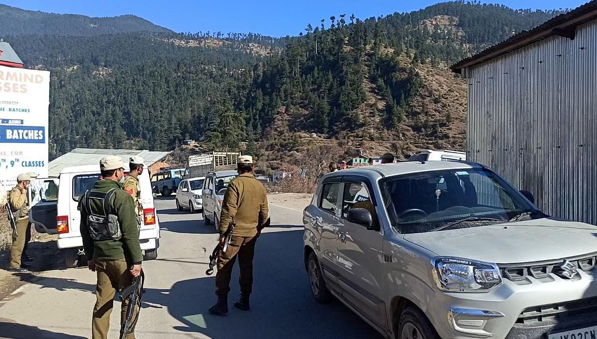 Security beefed up for 3rd phase of DDC polls in J&K's Bhadarwah