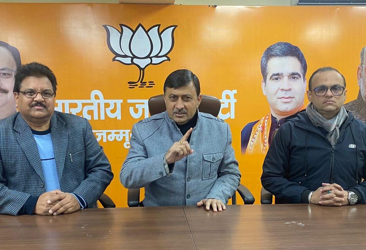 Jammu on path of growth, development: BJP