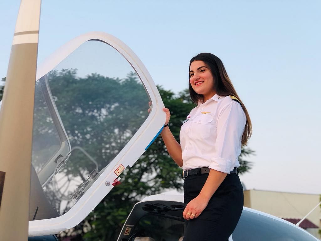Kashmir Girl, 20, Adds Wings to Her Dreams, Bags Commercial Pilot's License