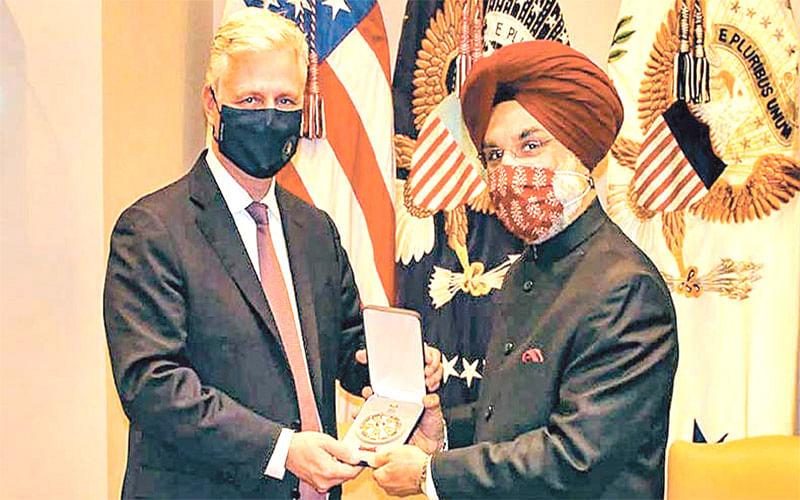 An Award to a Military Ally