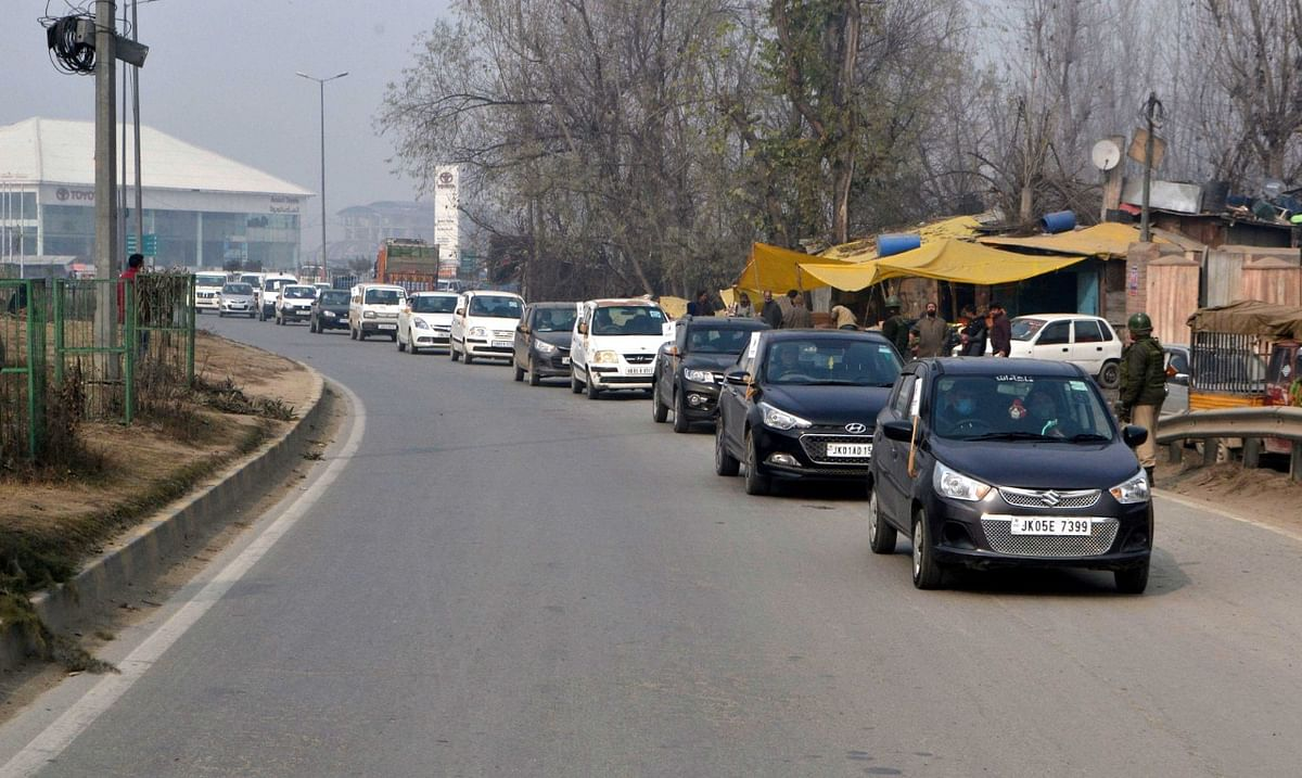 VMS holds car rally for specially abled