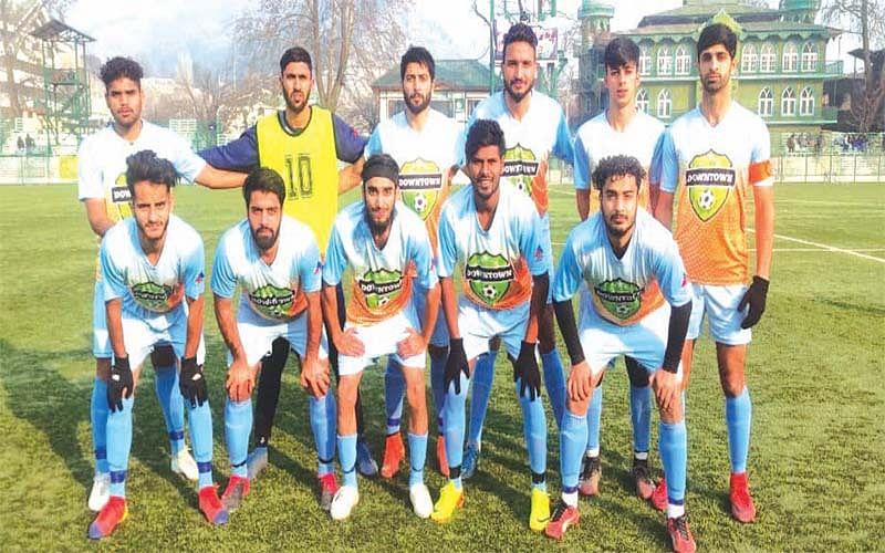 Premier League-Football   Downtown Heroes FC beats  HyderyaFC1-0