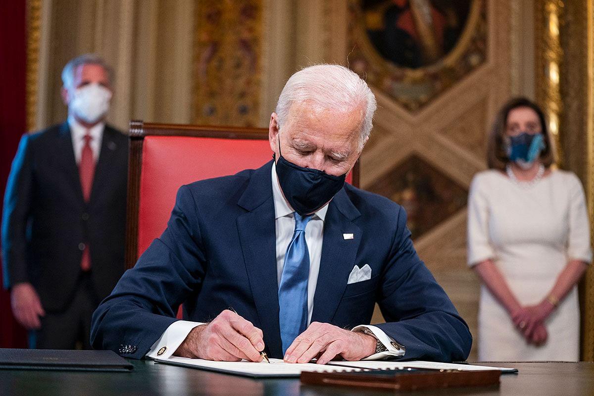 Biden revokes Trump-era ban on Green Card