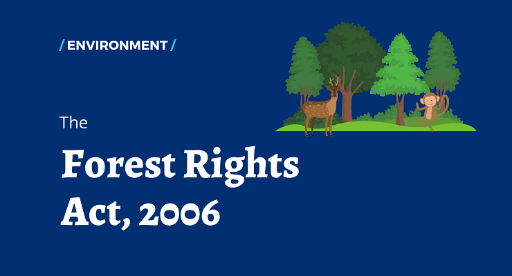 Violation of the Forest Rights Act- VI