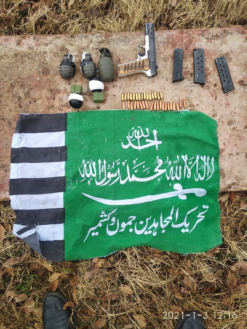 Militant module busted in J&K's Mendhar, arms recovered