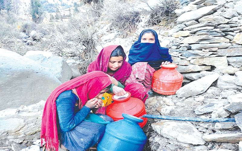 Fewer Drops to Drink: Bhadarwah villagers pool funds to get portable water supply