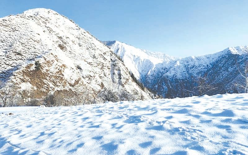 Several Reasi villages without electricity, roads amid fresh snowfall