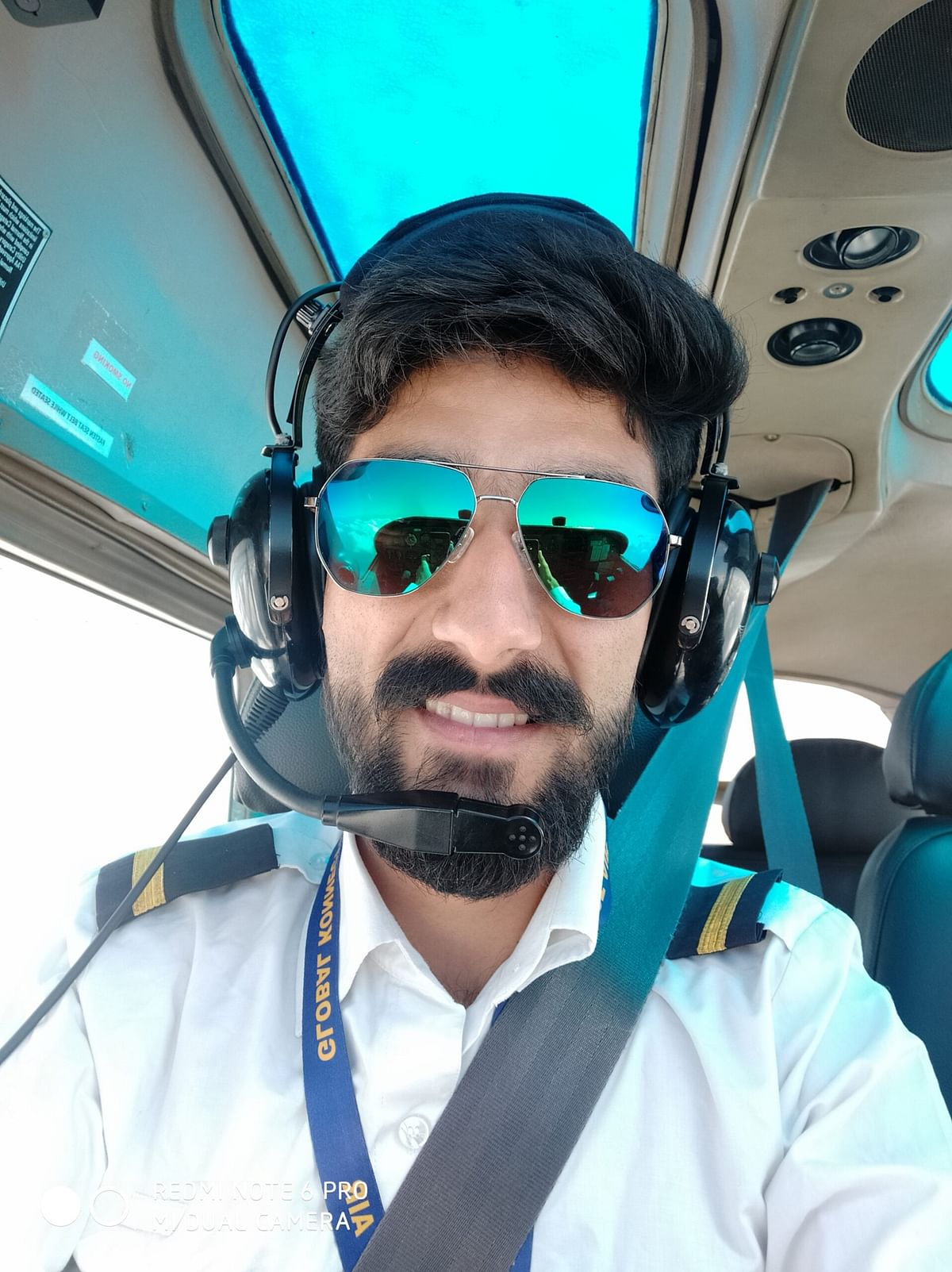 Fascinated by jets in his childhood, Farhan Majeed is now Kashmir's youngest commercial pilot