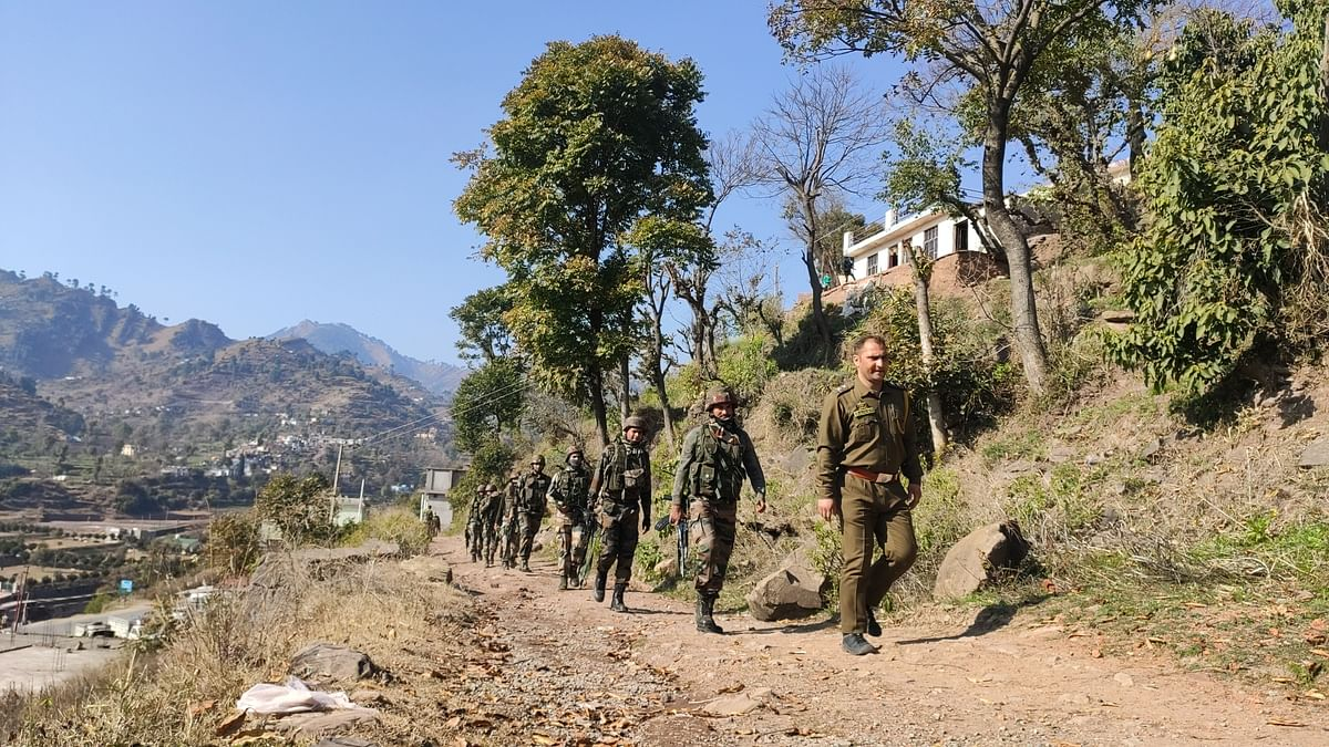 Security forces launch search operation in several villages in J&K's Rajouri