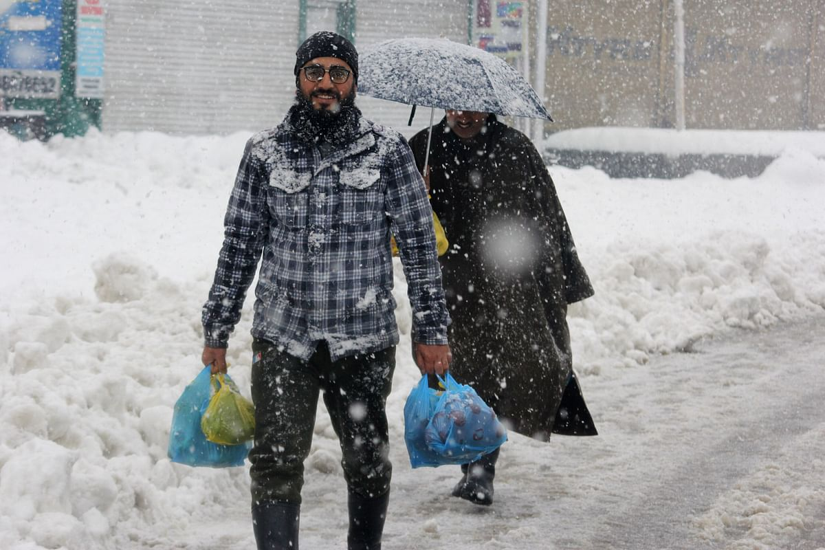 Another spell of light snow, rain likely in J&K soon