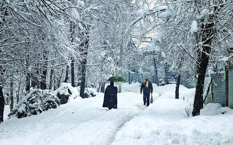 Frozen Pain in Kashmir