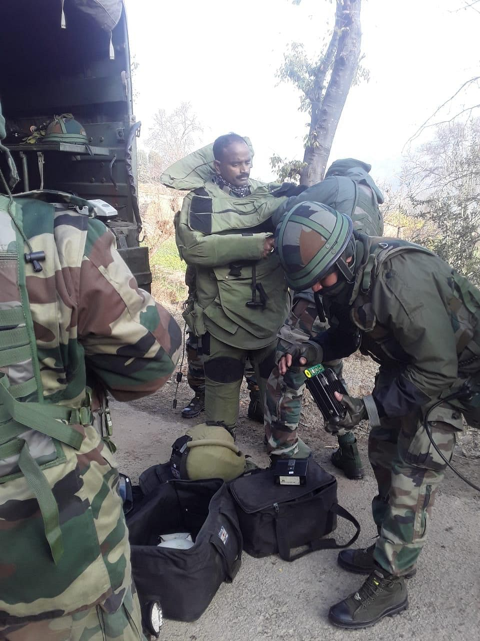 IED-like substance destroyed in controlled explosion in J&K's Mendhar