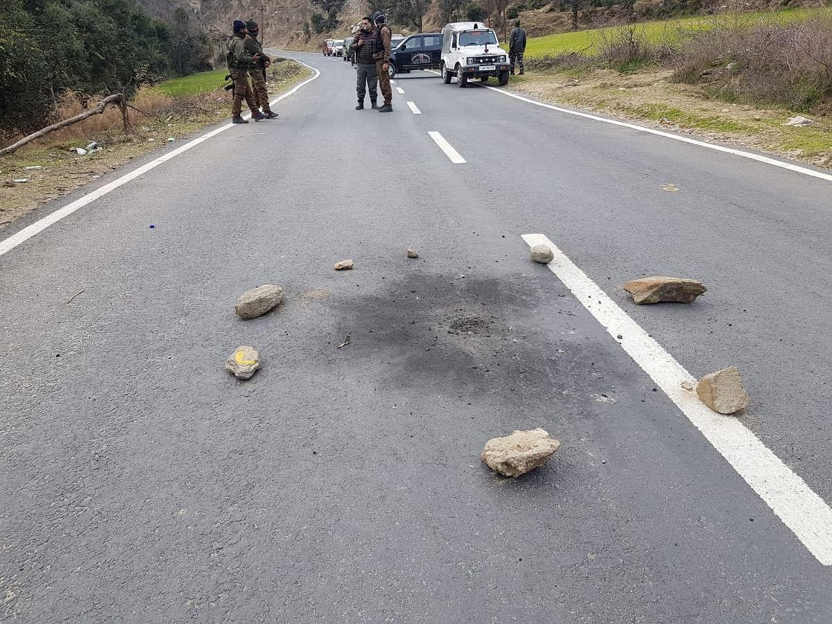 Grenade attack on police party in Kishtwar, no casualty reported