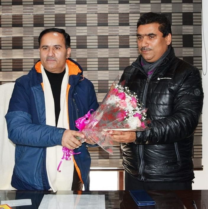 Dr G N Itoo assumes charge as Dir Tourism