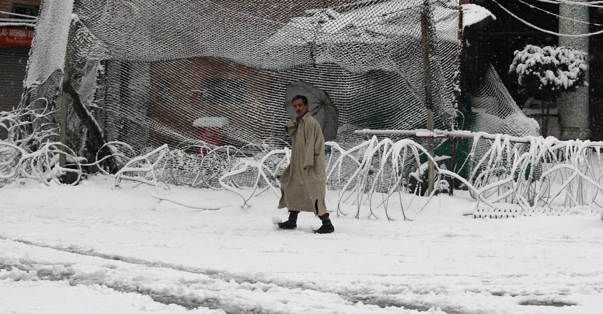 At minus 7.8, Srinagar records coldest night after 8 years