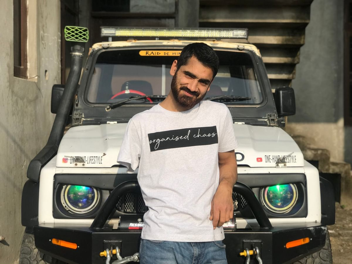At 11, he lost an arm, not grit: Meet 'one-handed king' Sayer Abdullah  – an off roader