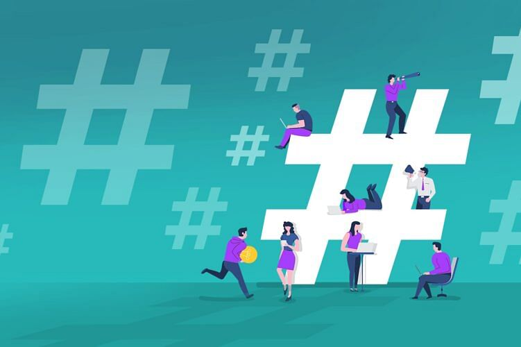 The generation of Hashtags