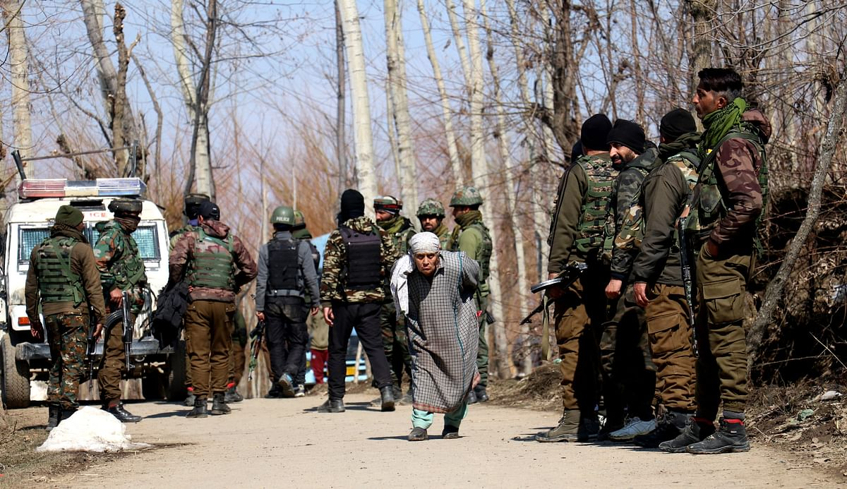 Two militants killed in ongoing encounter in south Kashmir's Tral
