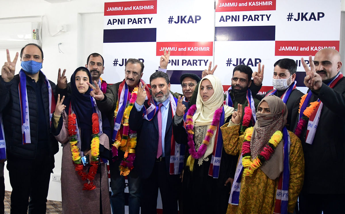 Apni Party wins DDC Chairperson, Vice-chairperson posts in Srinagar, Shopian