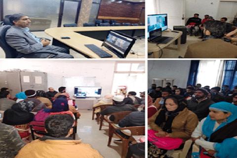 Director JKEDI e-inagurates EDP at Poonch
